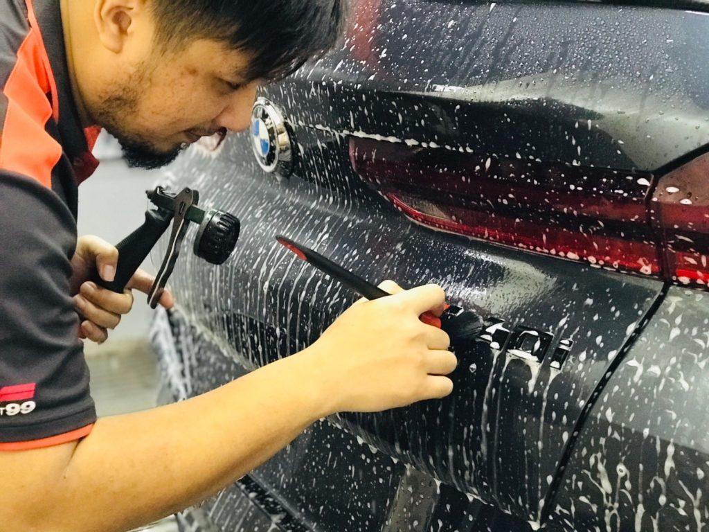 汽車 小美容  洗車人家